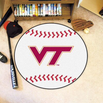 NCAA Virginia Tech Baseball Mat