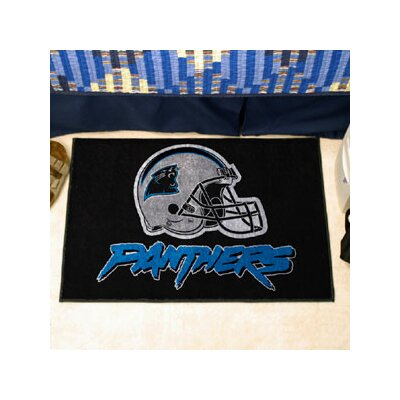 NFL - Carolina Panthers Doormat Rug Size: 210 x 38.5