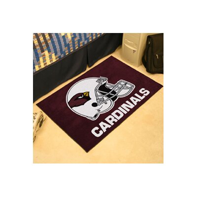 NFL - Arizona Cardinals Doormat Rug Size: 5 x 6