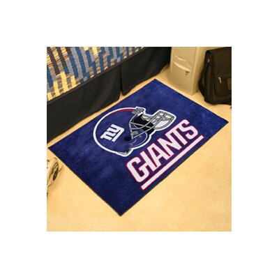 NFL - New York Giants Doormat Rug Size: 5 x 6