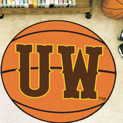 NCAA University of Wyoming Basketball Mat