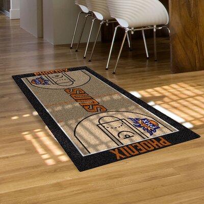 NBA - Phoenix Suns NBA Court Runner Doormat Rug Size: 2 x 38