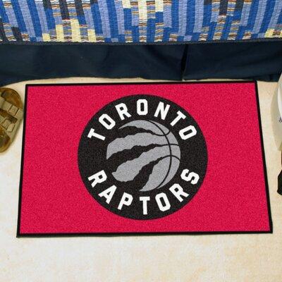 NBA - Toronto Raptors Doormat Mat Size: 17 x 26