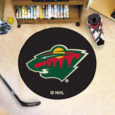 NHL Puck Doormat NHL: Minnesota Wild