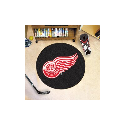 NHL - Detroit Red Wings Puck Doormat