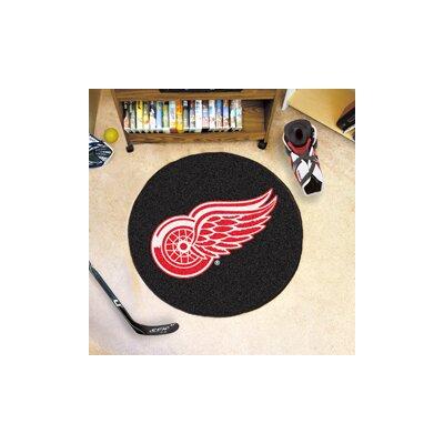 NHL Puck Doormat NHL: Detroit Red Wings