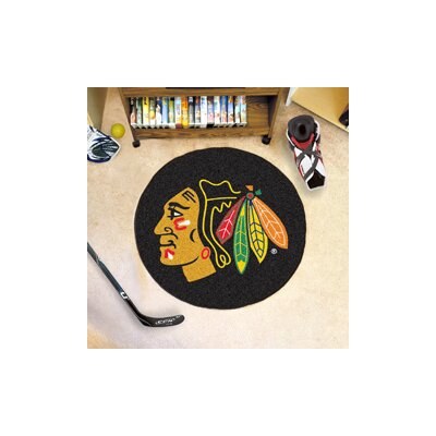 NHL Puck Doormat NHL: Chicago Blackhawks