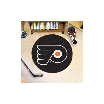 NHL - Philadelphia Flyers Puck Doormat
