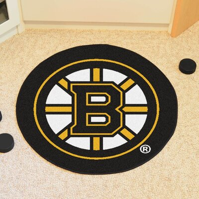 NHL - Boston Bruins Puck Doormat