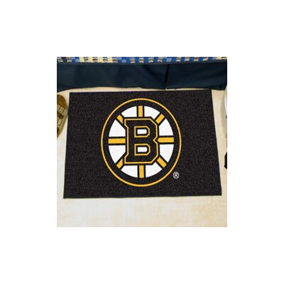 NHL - Boston Bruins Doormat Rug Size: 5 x 8