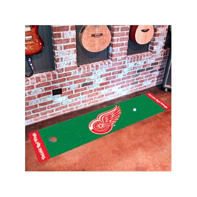NHL - Detroit Red Wings Putting Green Doormat