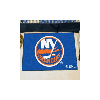 NHL - New York Islanders Doormat Rug Size: 210 x 38.5