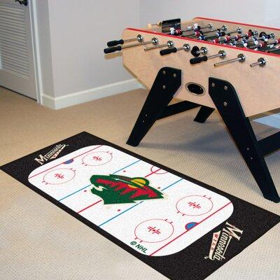 NHL - Minnesota Wild Rink Runner Doormat