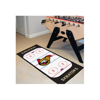 NHL - Ottawa Senators Rink Runner Doormat