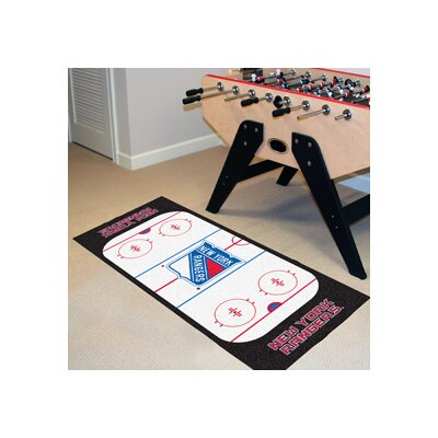 NHL - New York Rangers Rink Runner Doormat