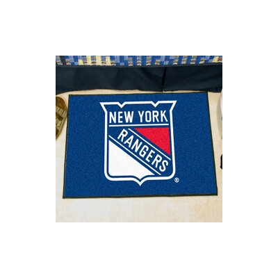 NHL - New York Rangers Tailgater Doormat Rug Size: 5 x 8