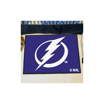 NHL - Tampa Bay Lightning Doormat Mat Size: 1'8