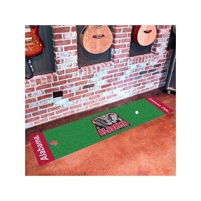 NCAA University of Alabama Putting Green Doormat