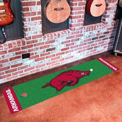 NCAA University of Arkansas Putting Green Doormat