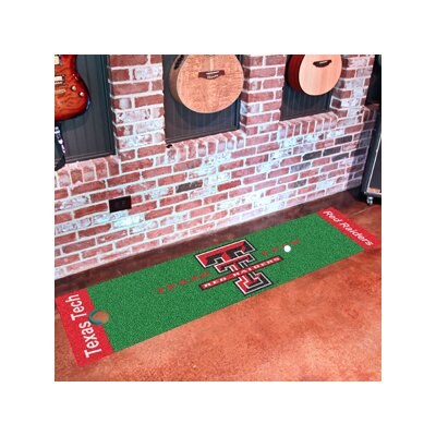 NCAA Texas Tech University Putting Green Doormat