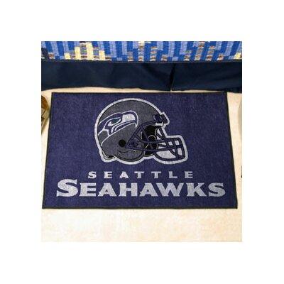 NFL - Seattle Seahawks Doormat Rug Size: 5' x 8'