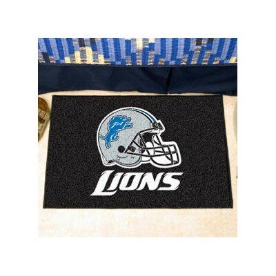 NFL - Detroit Lions Ulti-Mat Rug Size: 5 x 6