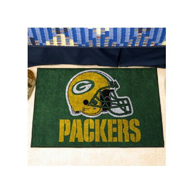 NFL - Green Bay Packers Doormat Mat Size: 5 x 8