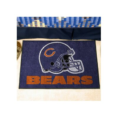 NFL - Chicago Bears Doormat Rug Size: 210 x 38.5