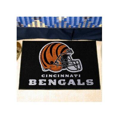 NFL - Cincinnati Bengals Doormat Mat Size: 5 x 8