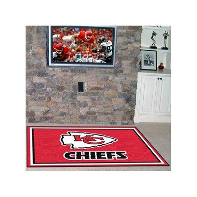 NFL - Kansas City Chiefs 4x6 Rug Rug Size: 5 x 8