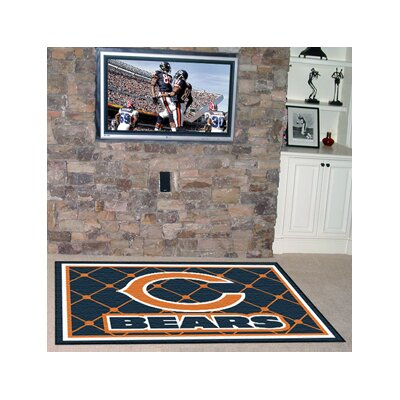 NFL - Chicago Bears 4x6 Rug Rug Size: 5 x 8
