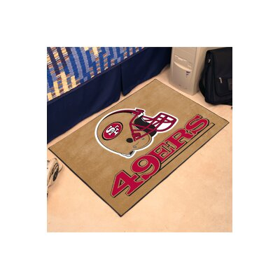 NFL - San Francisco 49ers Tailgater Doormat Rug Size: 5 x 8