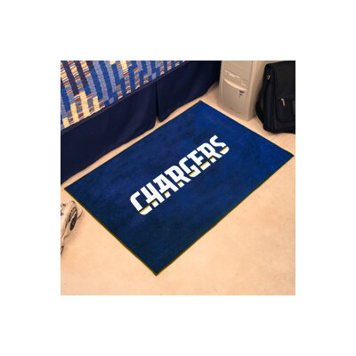 NFL - San Diego Chargers Tailgater Mat Rug Size: 210 x 38.5