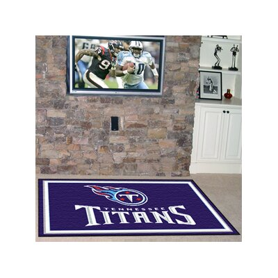 NFL - Tennessee Titans 5x8 Rug Rug Size: 5 x 8