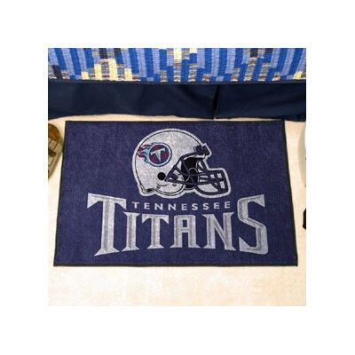 NFL - Tennessee Titans Doormat Rug Size: 18 x 26