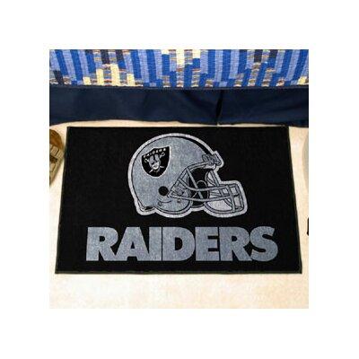 NFL - Oakland Raiders Doormat Rug Size: 5 x 8