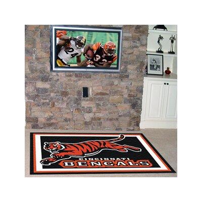 NFL - Cincinnati Bengals 5x8 Rug Rug Size: 5 x 8