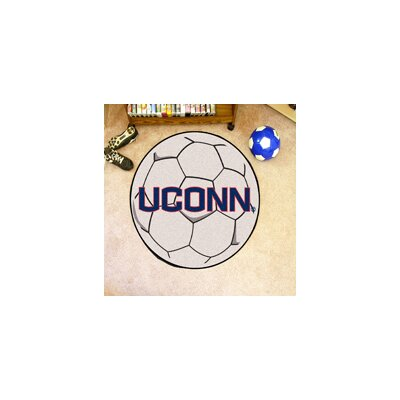 NCAA University of Connecticut Soccer Ball