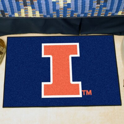 NCAA University of Illinois Starter Mat