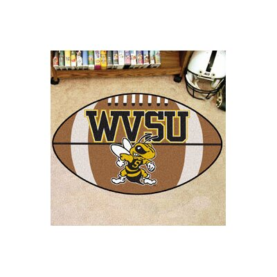NCAA Area Rug NCAA Team: West Virginia State University