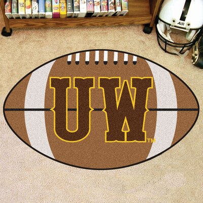 NCAA Area Rug NCAA Team: University of Wyoming