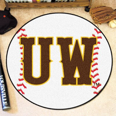 NCAA University of Wyoming Baseball Mat