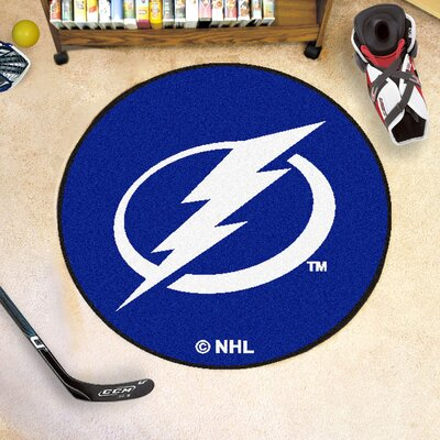 NHL - Tampa Bay Lightning Puck Doormat