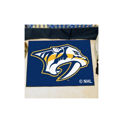 NHL - Nashville Predators Doormat Rug Size: 5 x 6