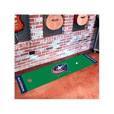 NHL - NCAAumbus Blue Jackets Putting Green Doormat