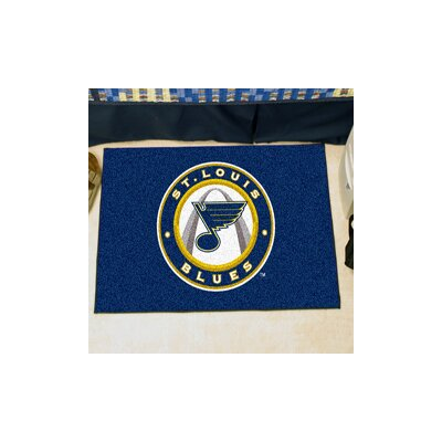 NHL - St. Louis Blues Doormat Rug Size: 5 x 6