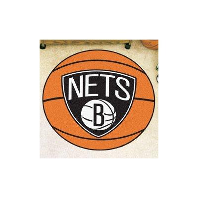 NBA Basketball Doormat NBA: Brooklyn Nets