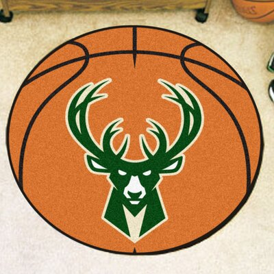 NBA Basketball Doormat NBA: Milwaukee Bucks
