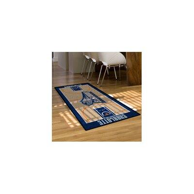 NBA - Charlotte Hornets NBA Court Runner Doormat Rug Size: 25.5 x 46