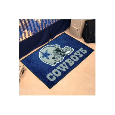 NFL - Dallas Cowboys Doormat Rug Size: 5 x 6